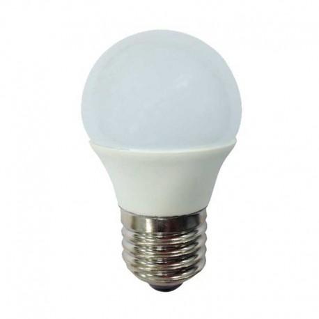 BOMBILLA LED Esférica E27, 6W, 4200K luz fria