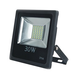Proyector de led de 30W, luz blanca 6500K