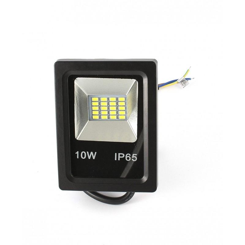 Proyector de led de 10w luz blanca 6500k - Proyectores de luz ...