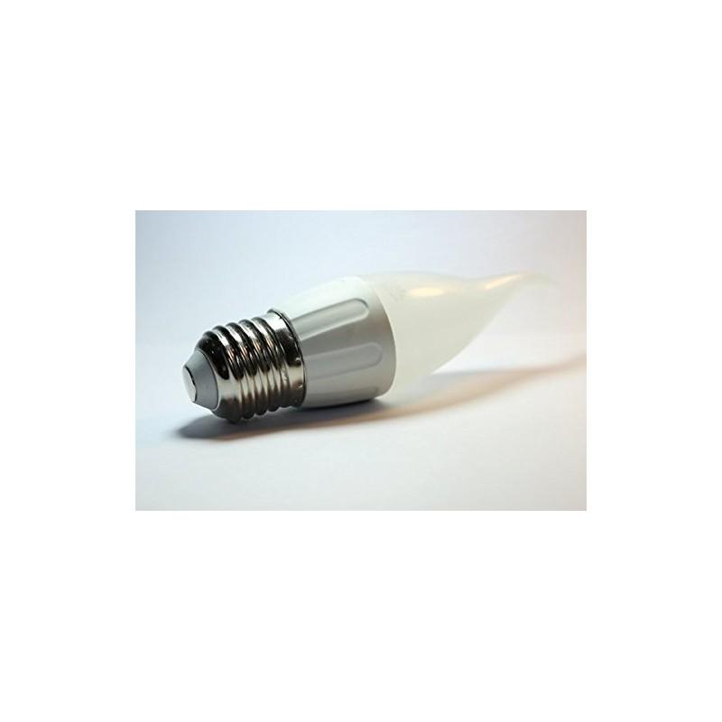Bombilla vela de led de 3w e27 3000k luz c lida for Bombillas led de vela