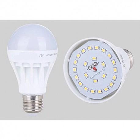 BOMBILLA LED Esférica E27, 7W, 3000K luz cálida