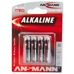Pilas alcalinas LR-03/AAA larga duración