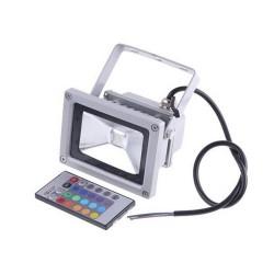 Proyector de led de 10W RGB Multicolor con mando