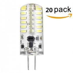 Bombilla Led G4, 1,5W, 12V, 6000k Luz blanca