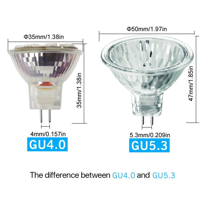 bombilla mr11 de led 1 3w 6000k luz blanca conexion gu10 a 230v. Black Bedroom Furniture Sets. Home Design Ideas