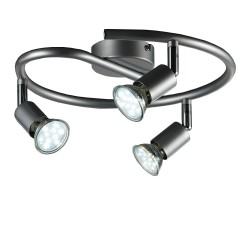 Regleta B.K.Light LED 3x9w