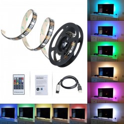 Tira de Led de 100Cm 300 MP RGB, Leds, 12V/3A/36W. IP33 para interior